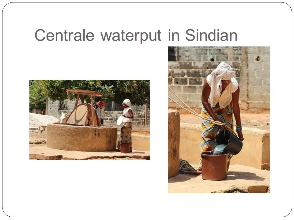 Centrale waterput in Sindian