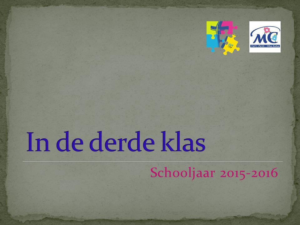 Schooljaar 2015-2016