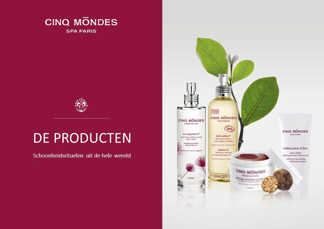 De oprichter van CINQ MONDES, Jean-Louis Poiroux, heeft een unieke, natuurlijke cosmeticalijn ontwikkeld, die ge ï nspireerd is uit voorouderlijke schoonheidsrecepten.