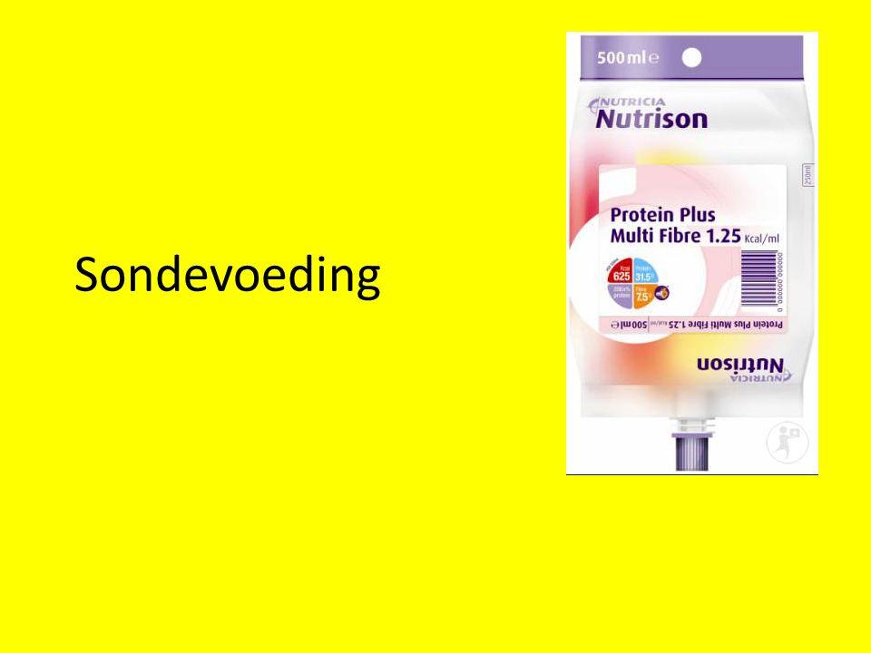 Wat is sondevoeding.