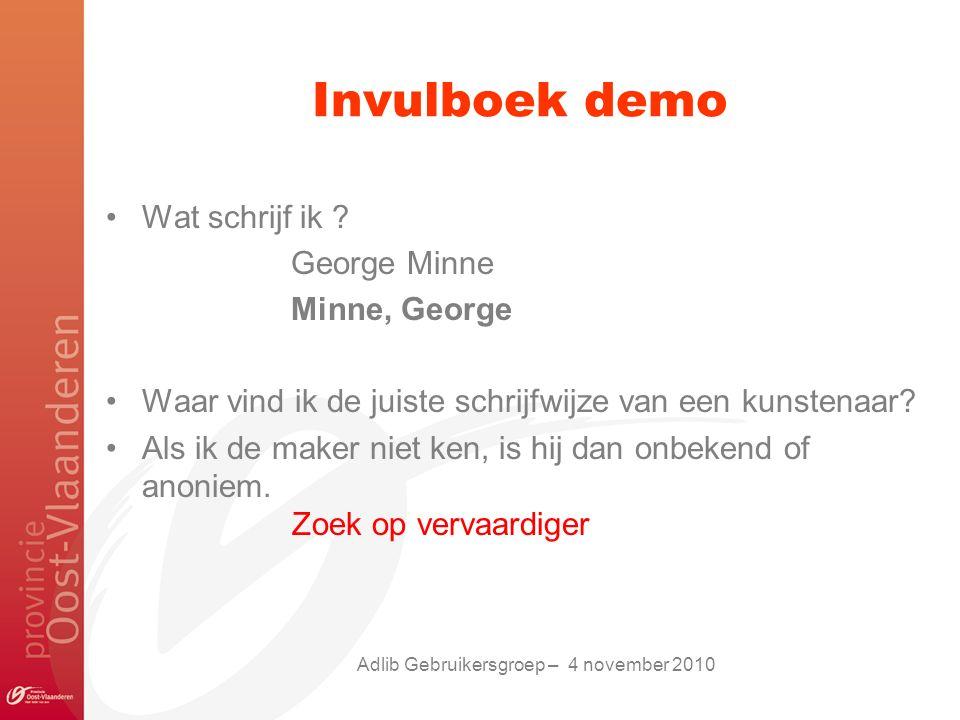 Invulboek demo Wat schrijf ik .