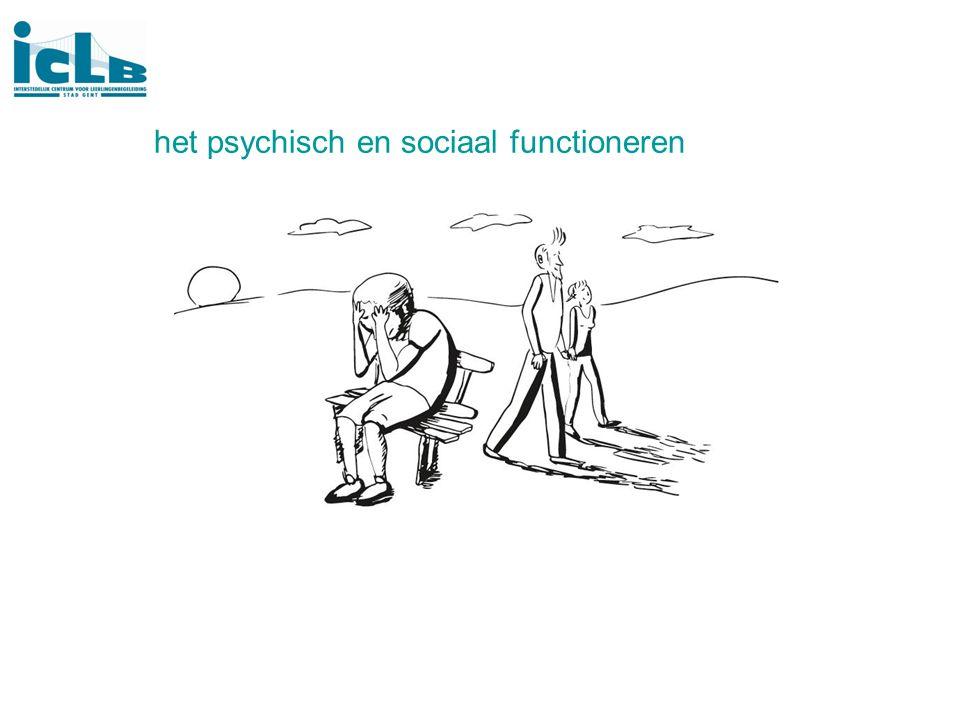 het psychisch en sociaal functioneren