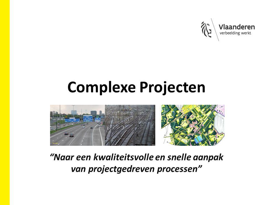 Complexe Projecten Naar een kwaliteitsvolle en snelle aanpak van projectgedreven processen