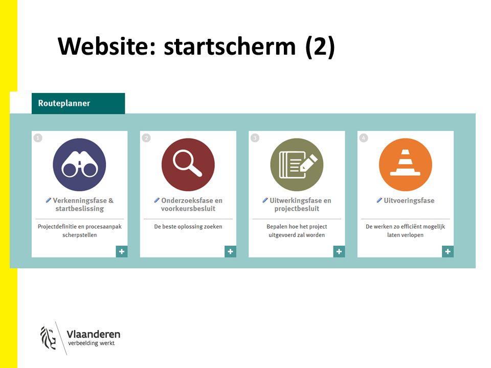 Website: startscherm (2)
