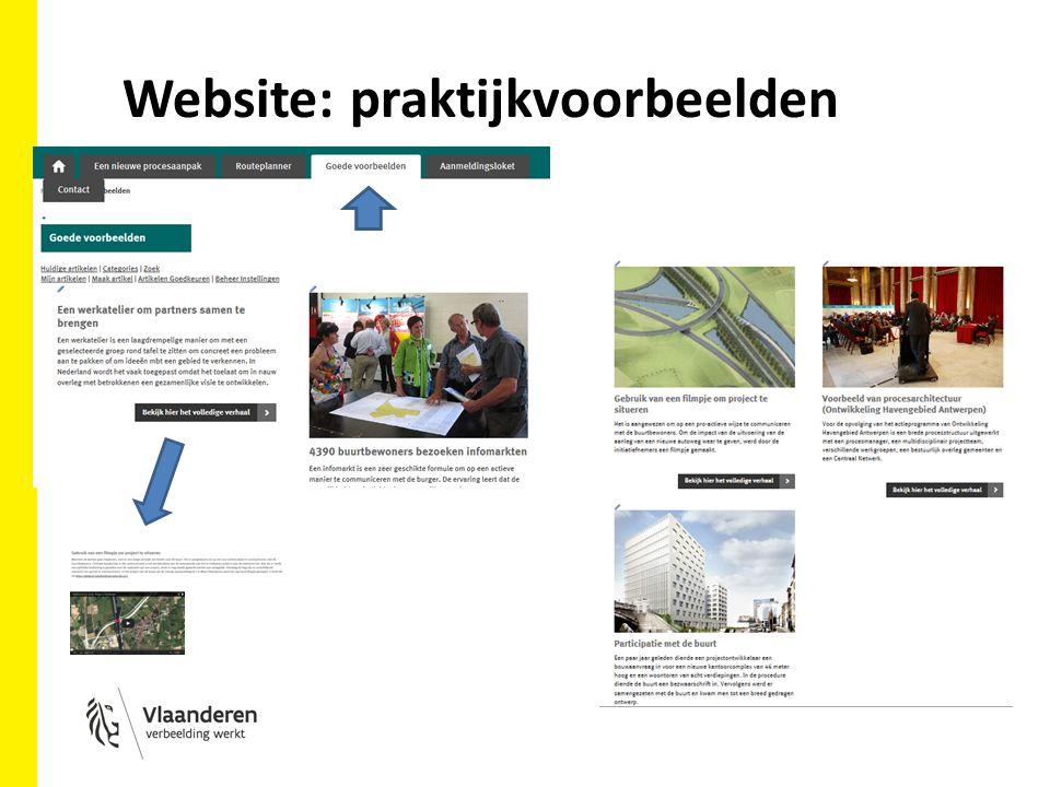 Website: praktijkvoorbeelden