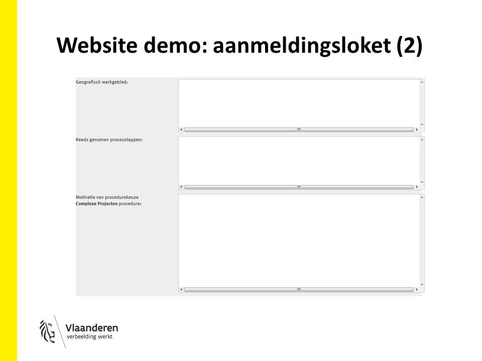 Website demo: aanmeldingsloket (2)