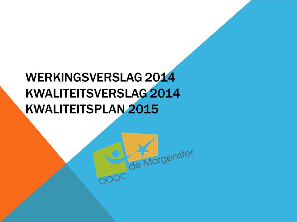 GEMIDDELDE BEGELEIDINGSDUUR DAALDE WERKINGSVERSLAG EN KWALITEITSVERSLAG 2014, KWALITEITSPLAN 2015 Aantal dossiers Modules/dag ingezet voor uit 2013 overgedragen begeleidingen 6 Diagnostiek niet afgehandeld op 31/12/2013, overgedragen naar 2014 1599, of 15 % van het totaal aantal ingezette modules 2014 (2013: 24% van totaal aantal begeleidingen) 9 Verblijf niet beëindigd op 31/12/2013, overgedragen naar 2014 aantal begeleidingen gemiddelde begeleidings- duur in dagen 20118170,7 20126591,1 20136279,9 20147167,7