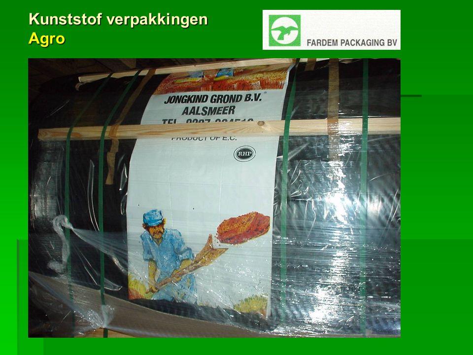Kunststof verpakkingen Agro