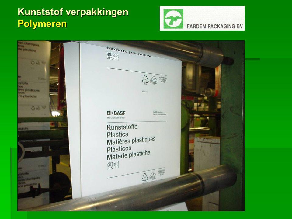 Kunststof verpakkingen Polymeren