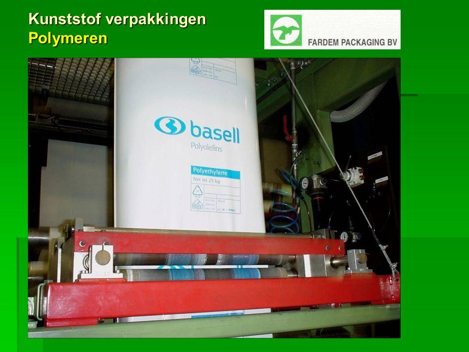 Kunststof verpakkingen Chemicaliën