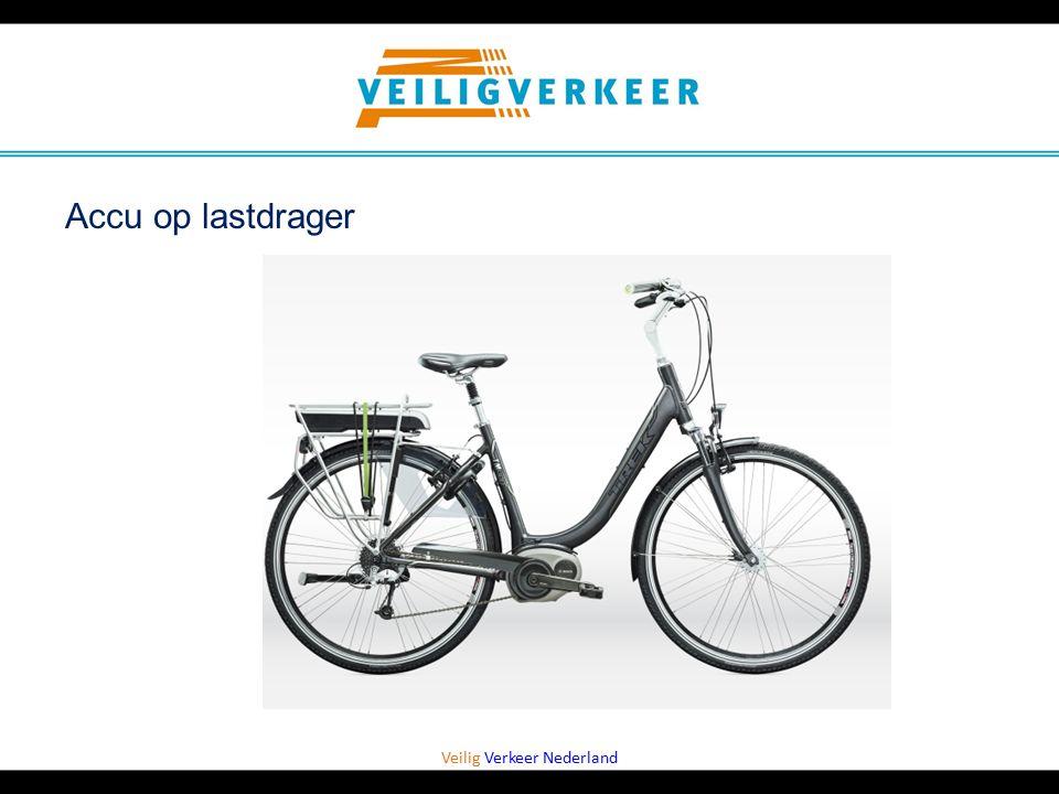 Veilig Verkeer Nederland Accu op lastdrager
