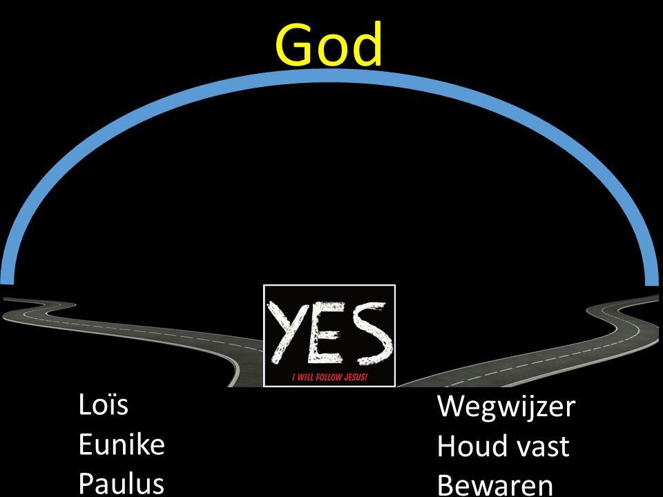 Loïs Eunike Paulus Wegwijzer Houd vast Bewaren God