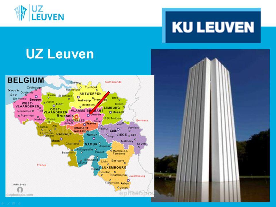 UZ Leuven health care science campus Gasthuisberg