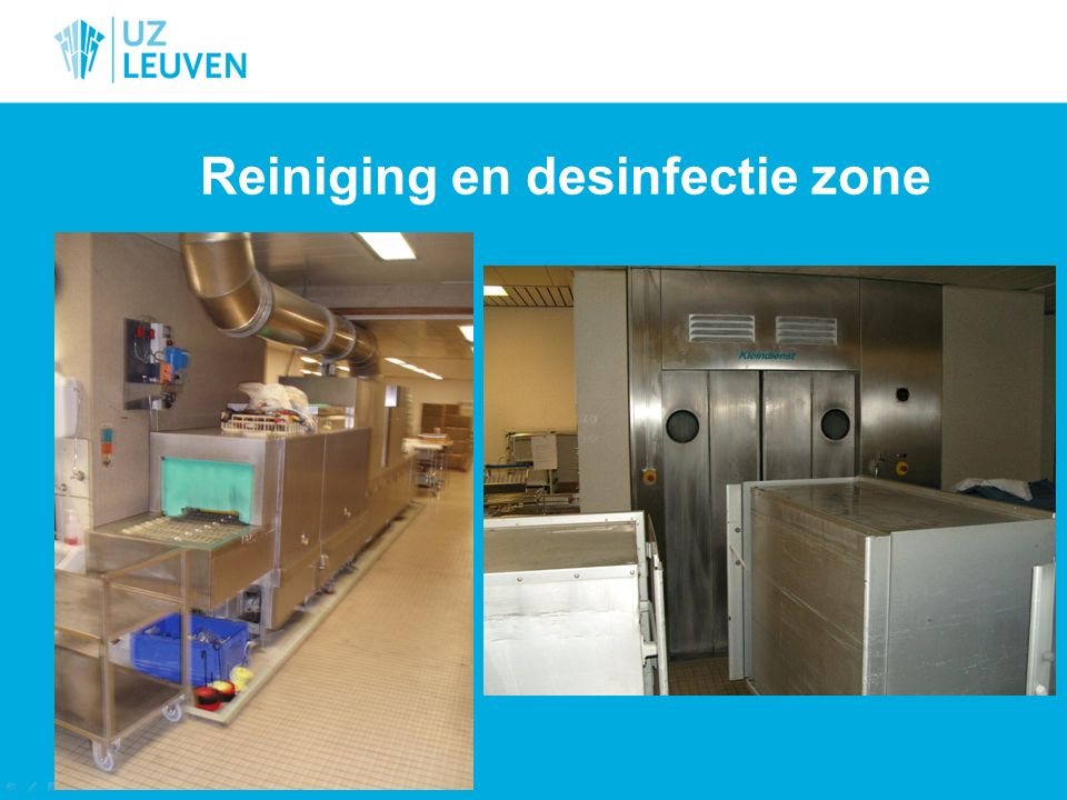 CSA UZ Leuven anno 2014 4000 verschillende soorten sets 800 – 900 lotnummers/dag 180 000 verwerkte lotnummers 2013