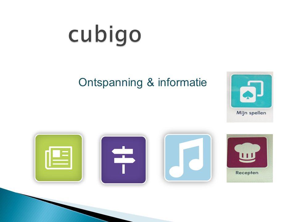 cubigo Ontspanning & informatie