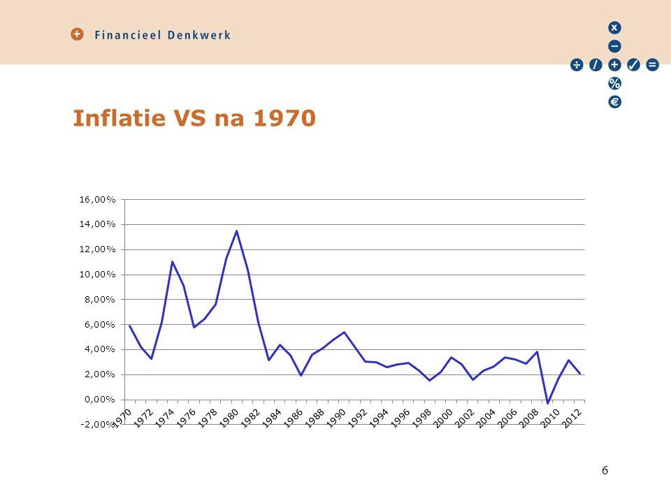 Inflatie VS na 1970 6