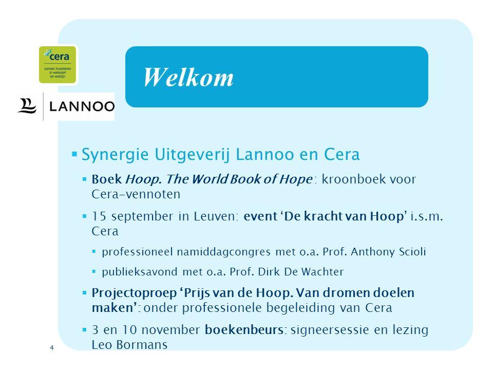 5 Lancering van het boek Hoop.