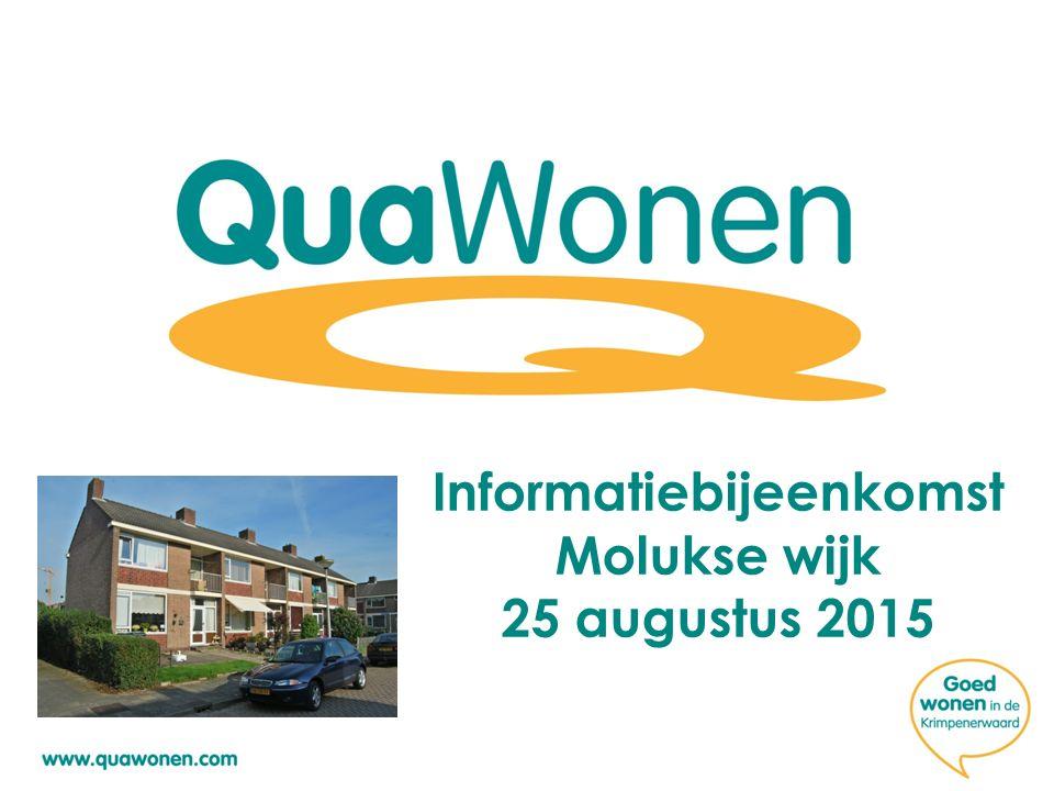 Informatiebijeenkomst Molukse wijk 25 augustus 2015