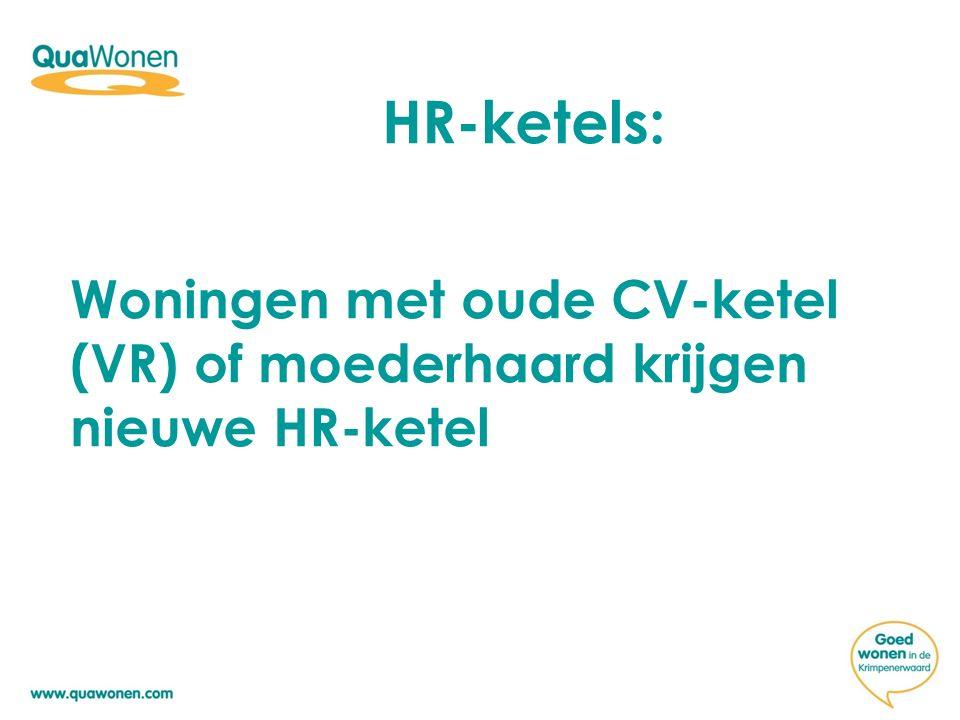 HR-ketels: Woningen met oude CV-ketel (VR) of moederhaard krijgen nieuwe HR-ketel