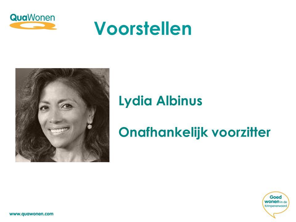 Voorstellen Lydia Albinus Onafhankelijk voorzitter