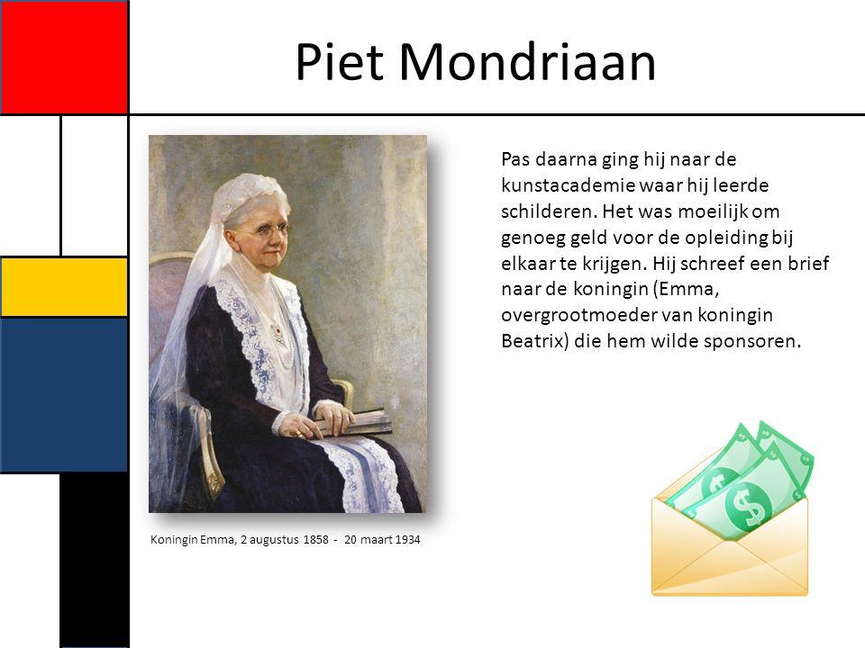 Piet Mondriaan Kleuren en veranderen.