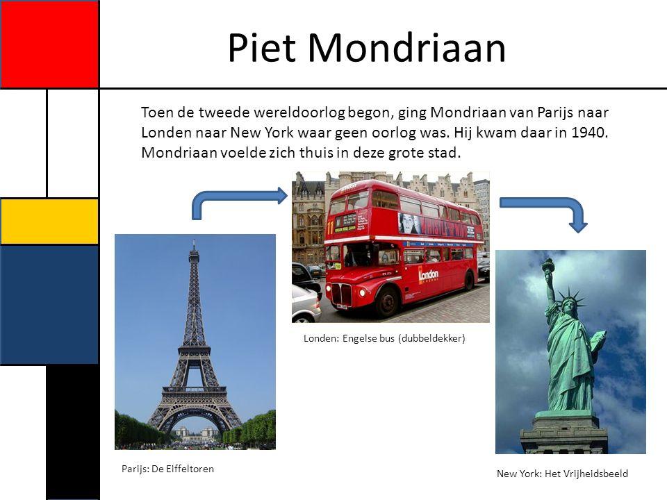 Piet Mondriaan Geld verdienen.