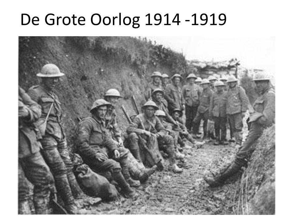 De Grote Oorlog 1914 -1919