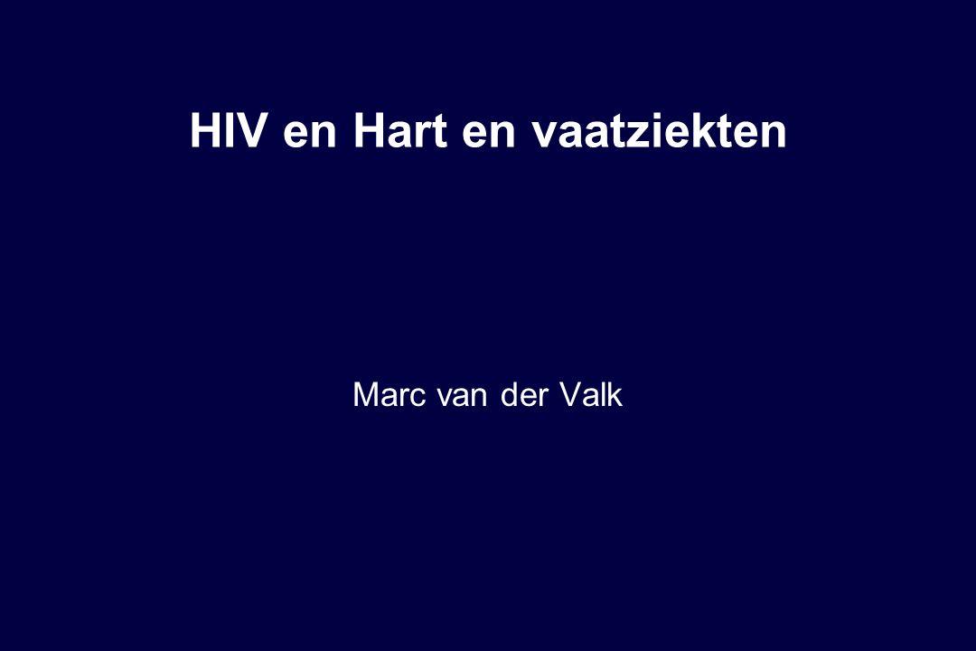 Bijwerkingen HIV therapie  Korte termijn  Lange termijn  Hart en vaatziekten  Lipodystrofie syndroom  polyneuropathie (aantasting van zenuwuiteinden)  Osteoporose (Botontkalking)  (nierziekten)  (leverziekten)  (maligniteiten)