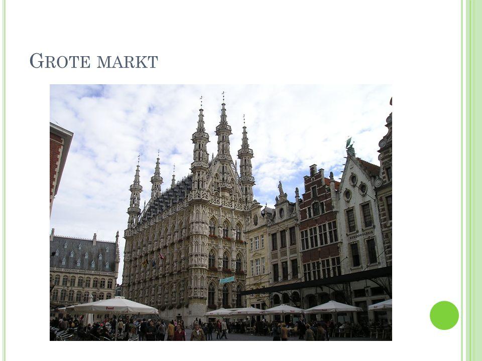 Q UIZ In welke provincie ligt Leuven.Wat is de centrale plaats in Leuven.