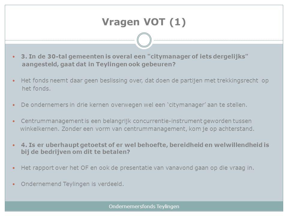 Vragen VOT (1) 3.