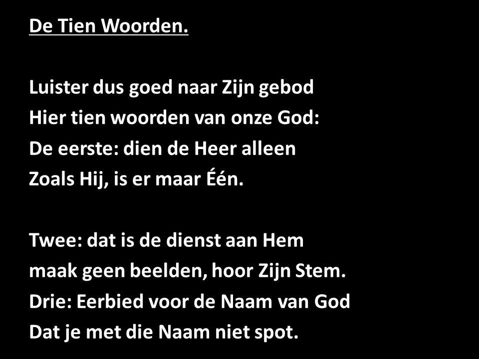 De Tien Woorden.