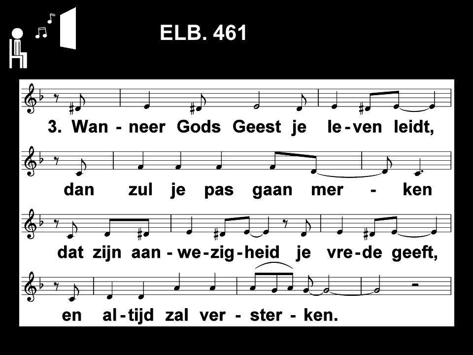 Evangelische Liedbundel 461 ELB. 461