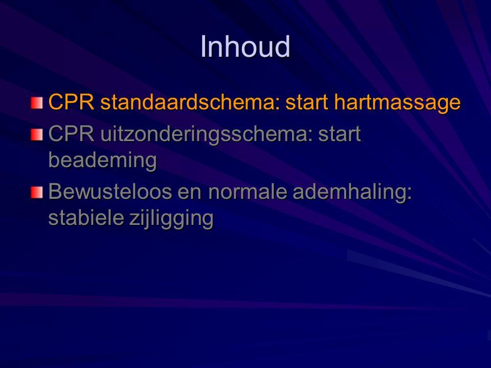Hartmassage: principe Rode Kruis Vlaanderen