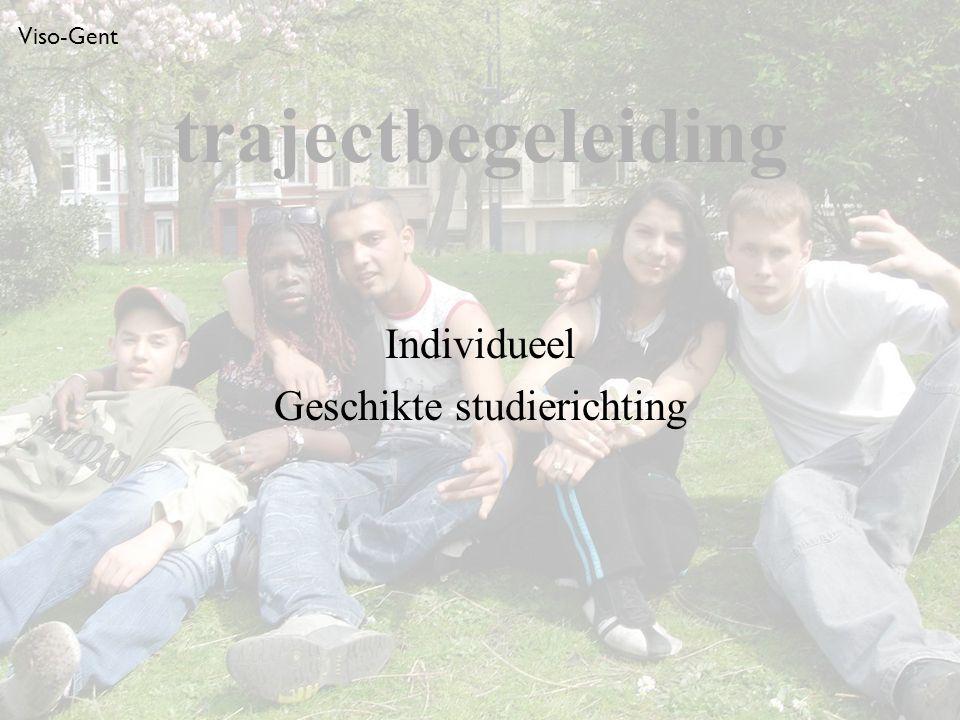 Viso-Gent Individueel Geschikte studierichting trajectbegeleiding