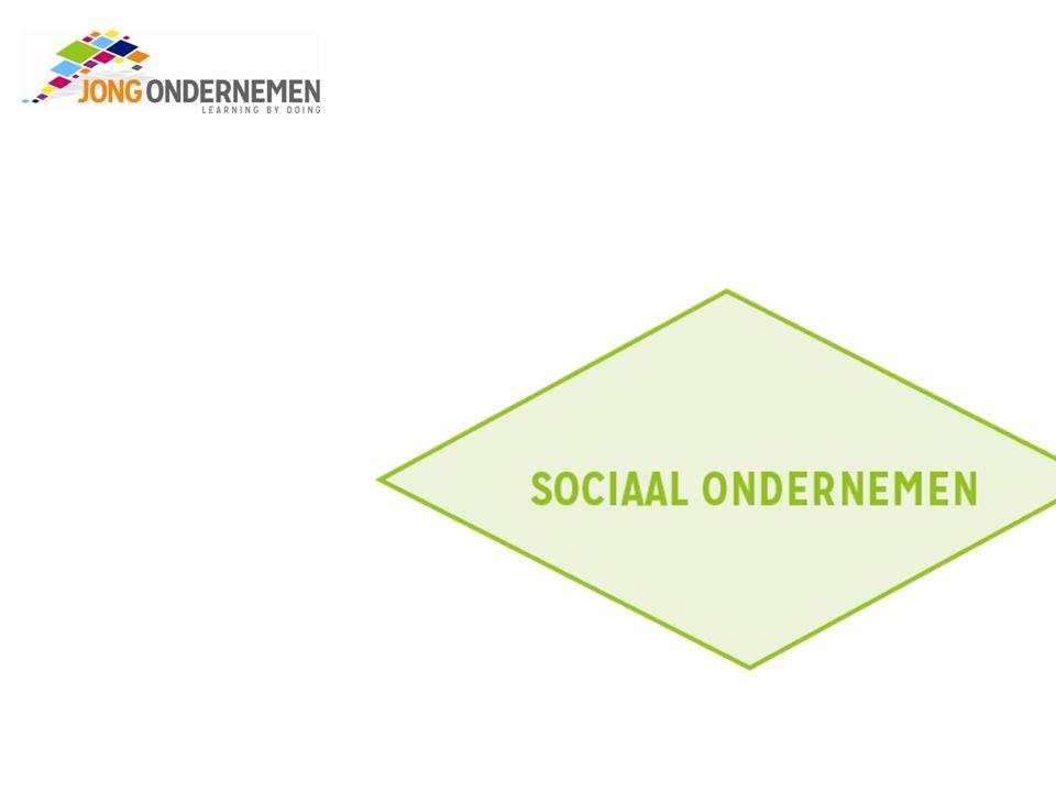 Sociaal ondernemen Op welke manier betekenen jullie iets voor de maatschappij.