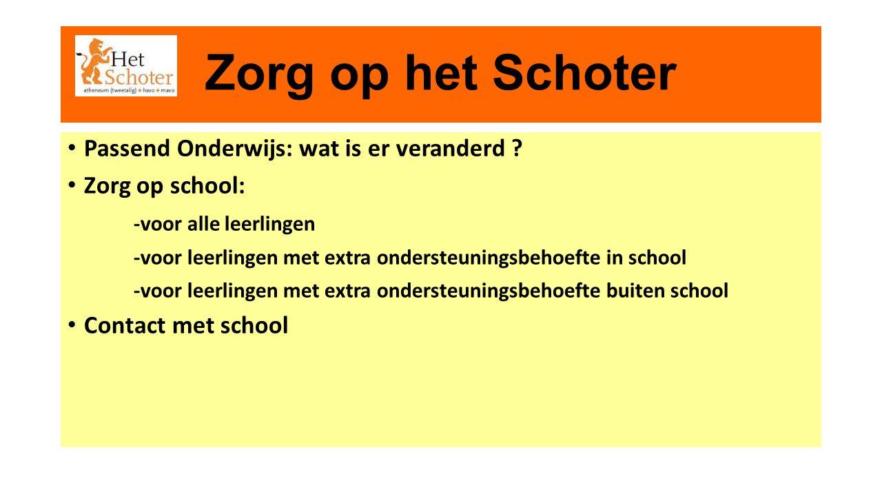 Passend Onderwijs Per 1 augustus 2014 Overstap basisonderwijs > voortgezet onderwijs passend onderwijs is goed onderwijs voor alle leerlingen De Praktijk: wat is er veranderd ?
