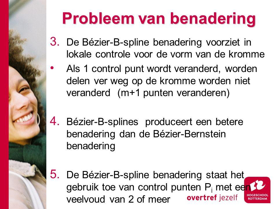 Probleem van benadering 3.
