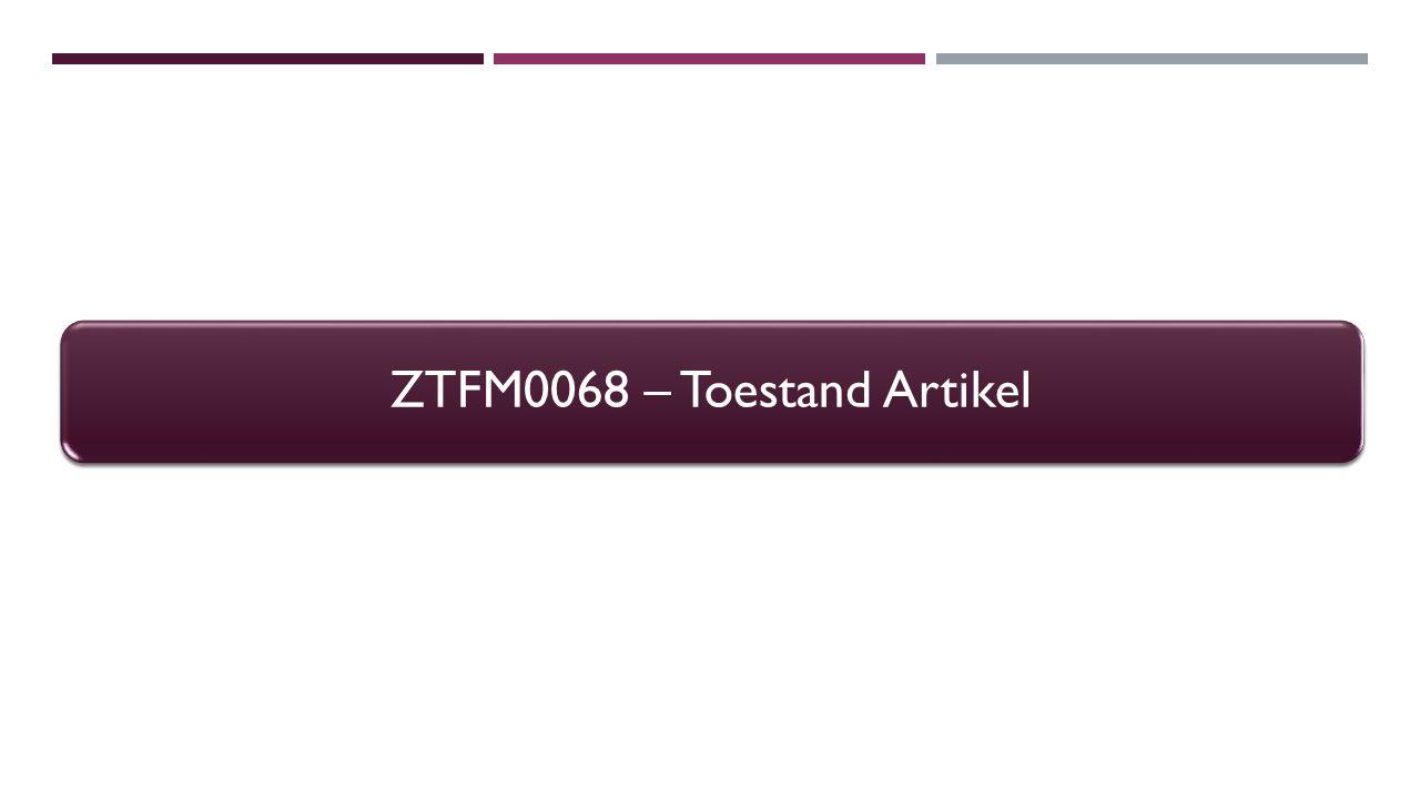 ZTFM0068 - Rapporteringsbehoeftes Hoe werd er gebudgetteerd voor een functiegebied.