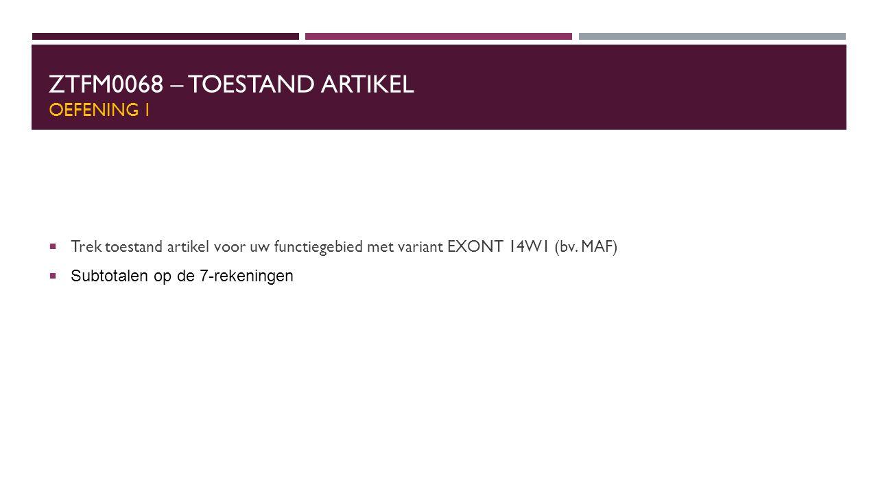 ZTFI0123 – Detail aanzuivering van vorderingen Gent: SD