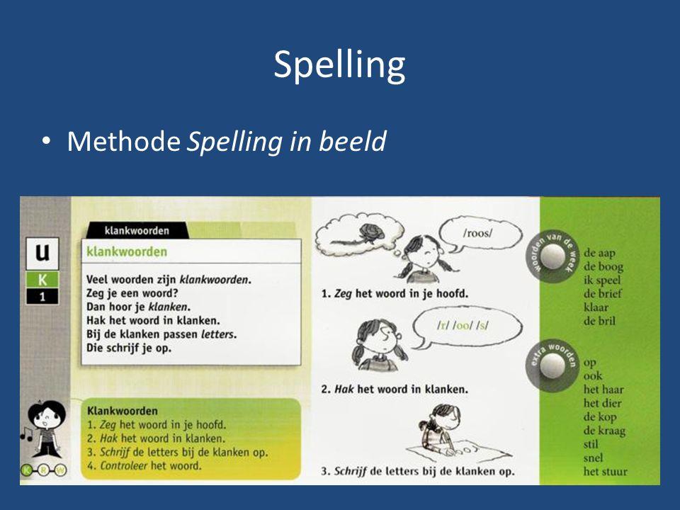 Spelling Methode Spelling in beeld