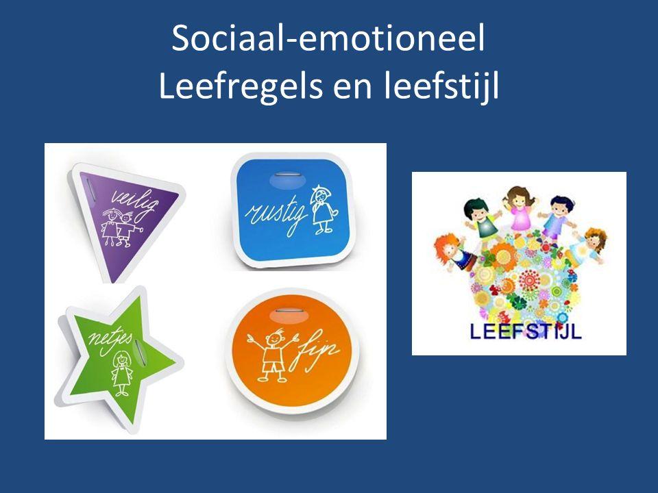 Sociaal-emotioneel Leefregels en leefstijl