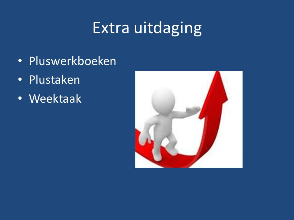 Extra uitdaging Pluswerkboeken Plustaken Weektaak