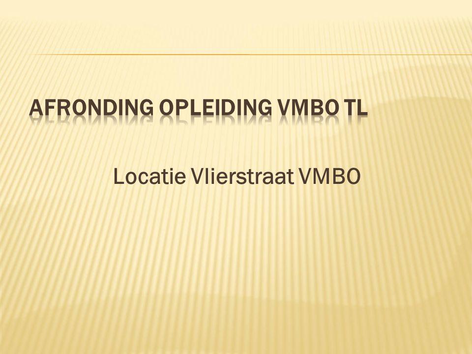 Locatie Vlierstraat VMBO
