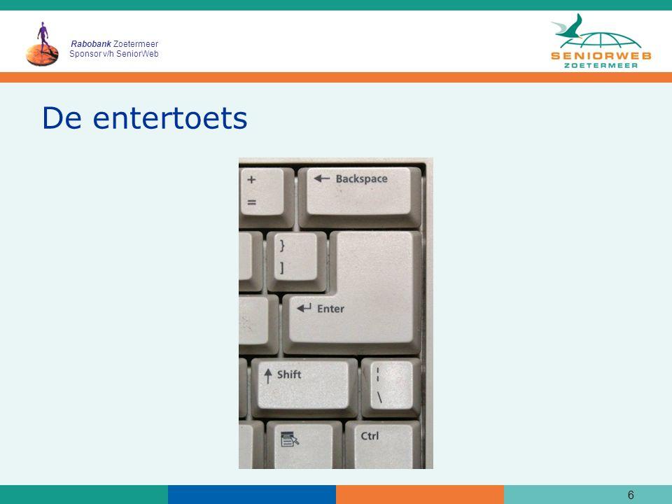 Rabobank Zoetermeer Sponsor v/h SeniorWeb De entertoets 6