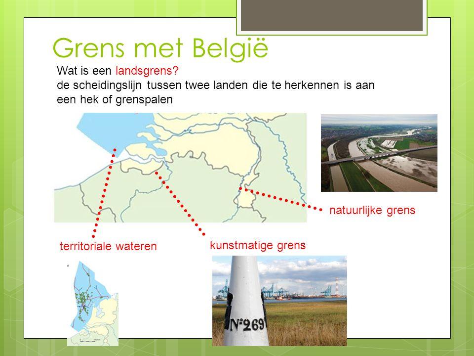 Soorten grenzen Wat zijn open grenzen in Europa.