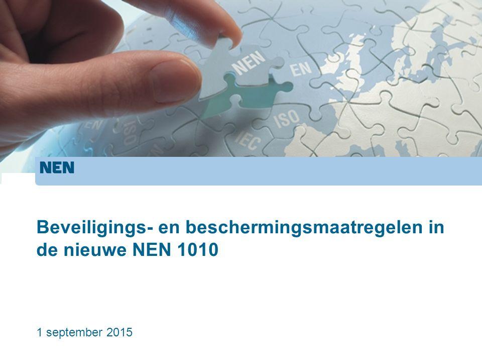 Elektrische beveiligings- en beschermingsmaatregelen Schok (Hfdst.