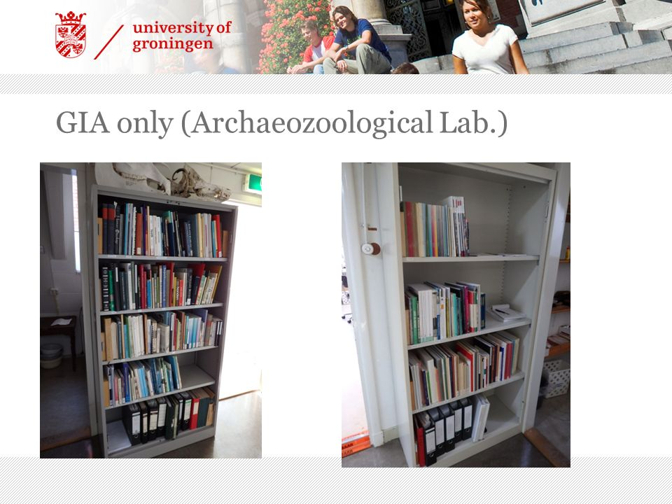 GIA only (Archaeozoological Lab.)
