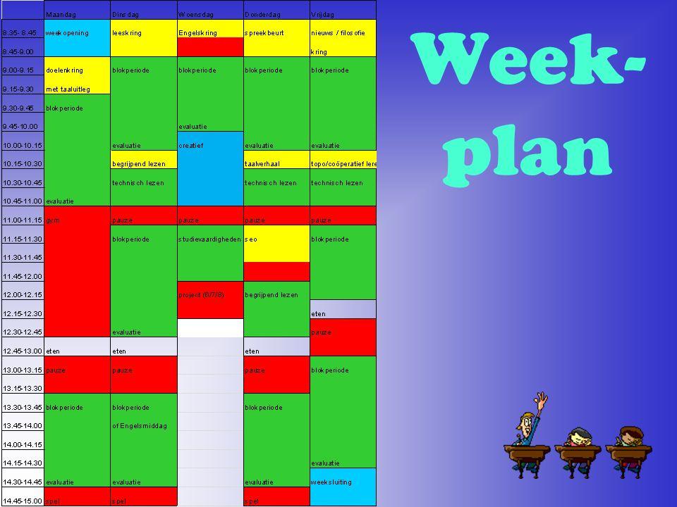 Week- plan