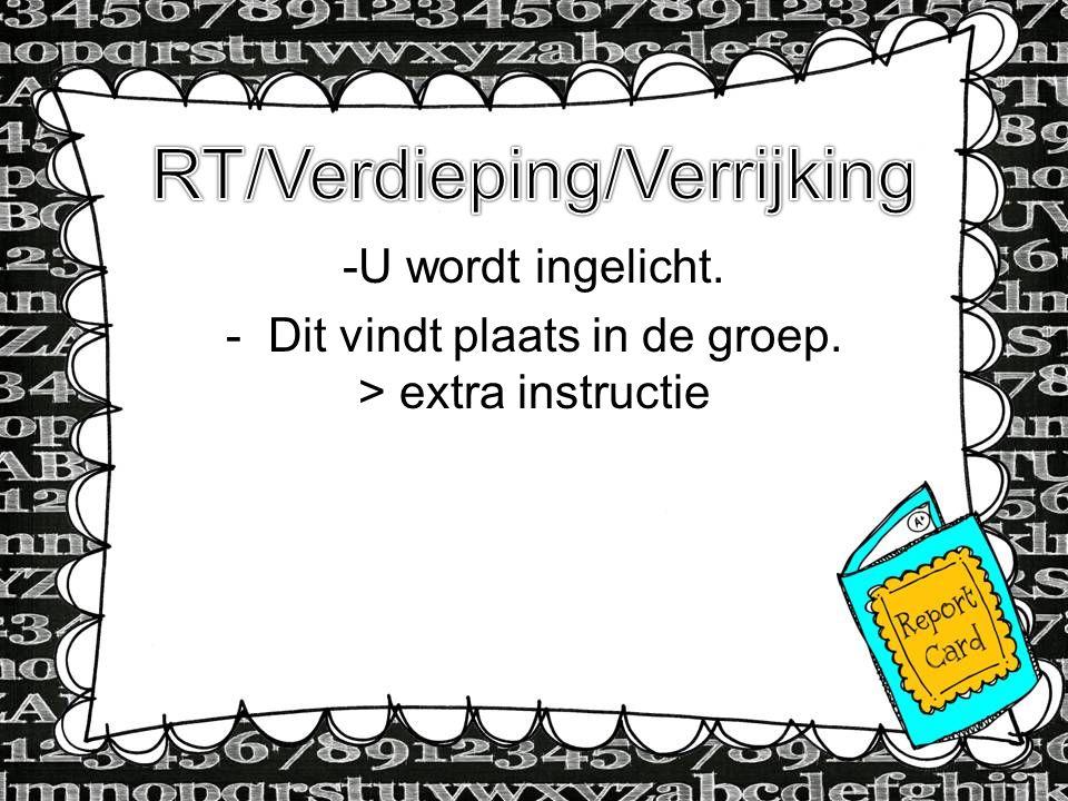 - NIO (Nederlandse Intelligentietest voor Onderwijs) en SVL (Schoolvragenlijst motivatie, welbevinden, zelfconcept) op 15 en 28 september a.s.