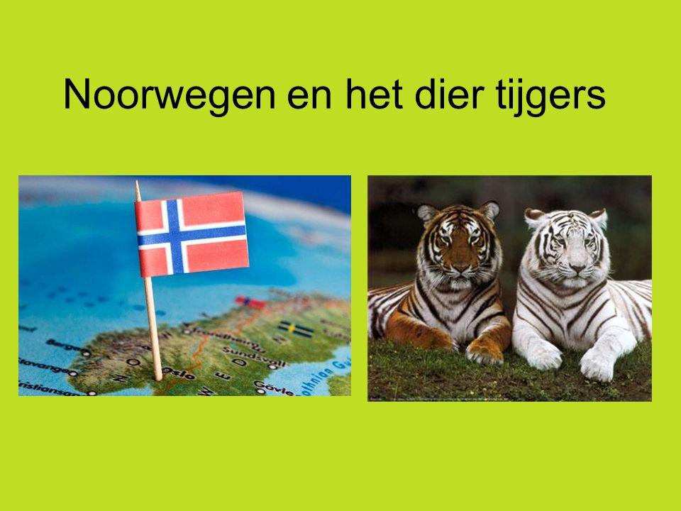 Noorwegen en het dier tijgers